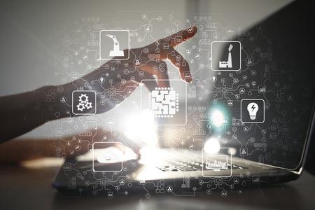 企業數位轉型應用與智慧製造推動-以經營策略思維、布局產業智慧製造數位轉型發展