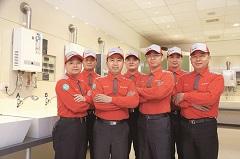 台灣櫻花》智能服務得來速 廚衛老店獲新「機」